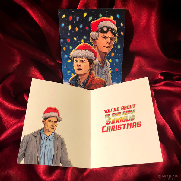 BACK to the FUTURE Christmas CARD!