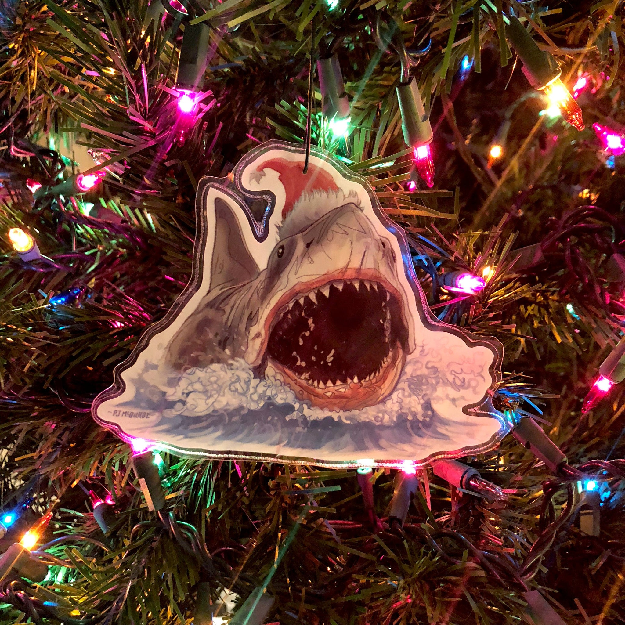 JAWS CHRISTMAS ORNAMENT!