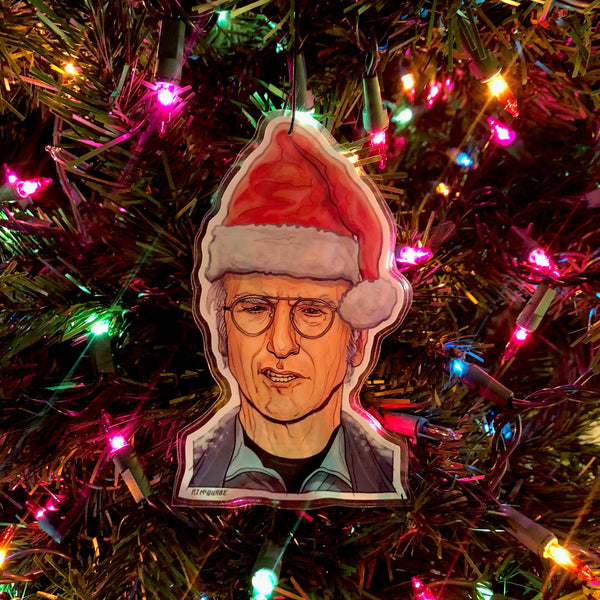 LARRY DAVID Curb Your Enthusiasm Christmas ORNAMENT!