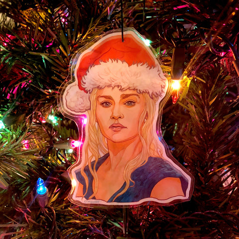 DAENERYS TARGARYEN Game of Thrones Christmas Ornament