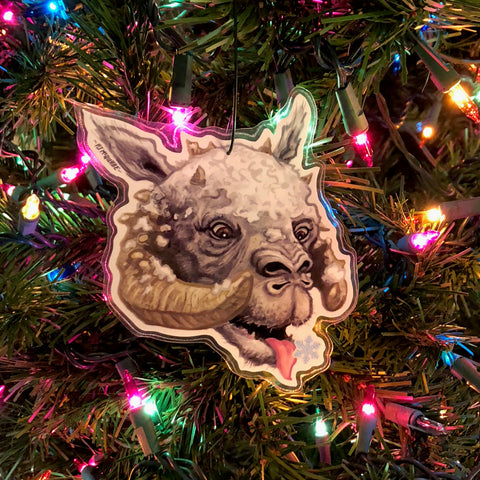 TAUNTAUN Star Wars Christmas ORNAMENT!