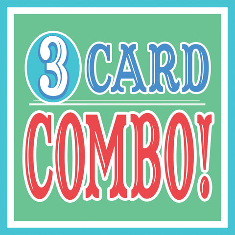 ANY 3 Cards Discount COMBO Pack!