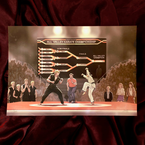 "KARATE KID: Final Fight! 13x19"" Limited Edition PRINT"