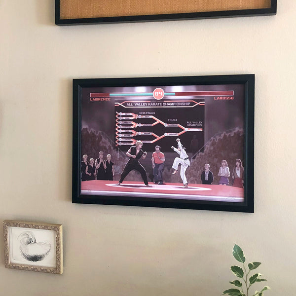 "KARATE KID: Final Fight 13x19"" Video Game Variant Limited Edition PRINT"