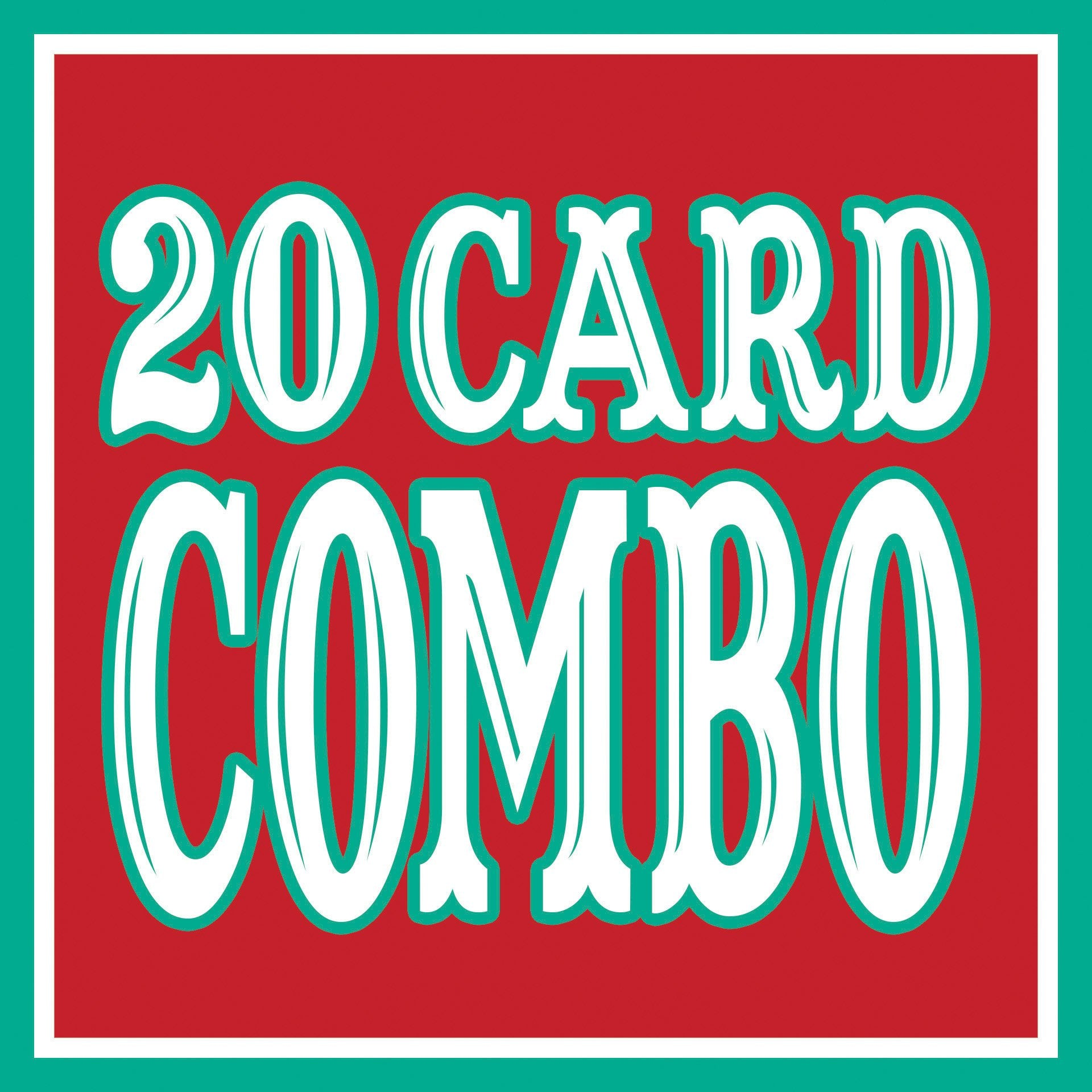Any 20 Cards DISCOUNT COMBO!