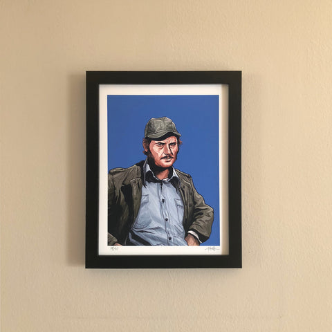 "QUINT 8.5x11"" Limited Edition JAWS PRINT!"