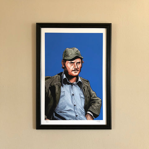 "QUINT 13x19"" Limited Edition JAWS PRINT!"