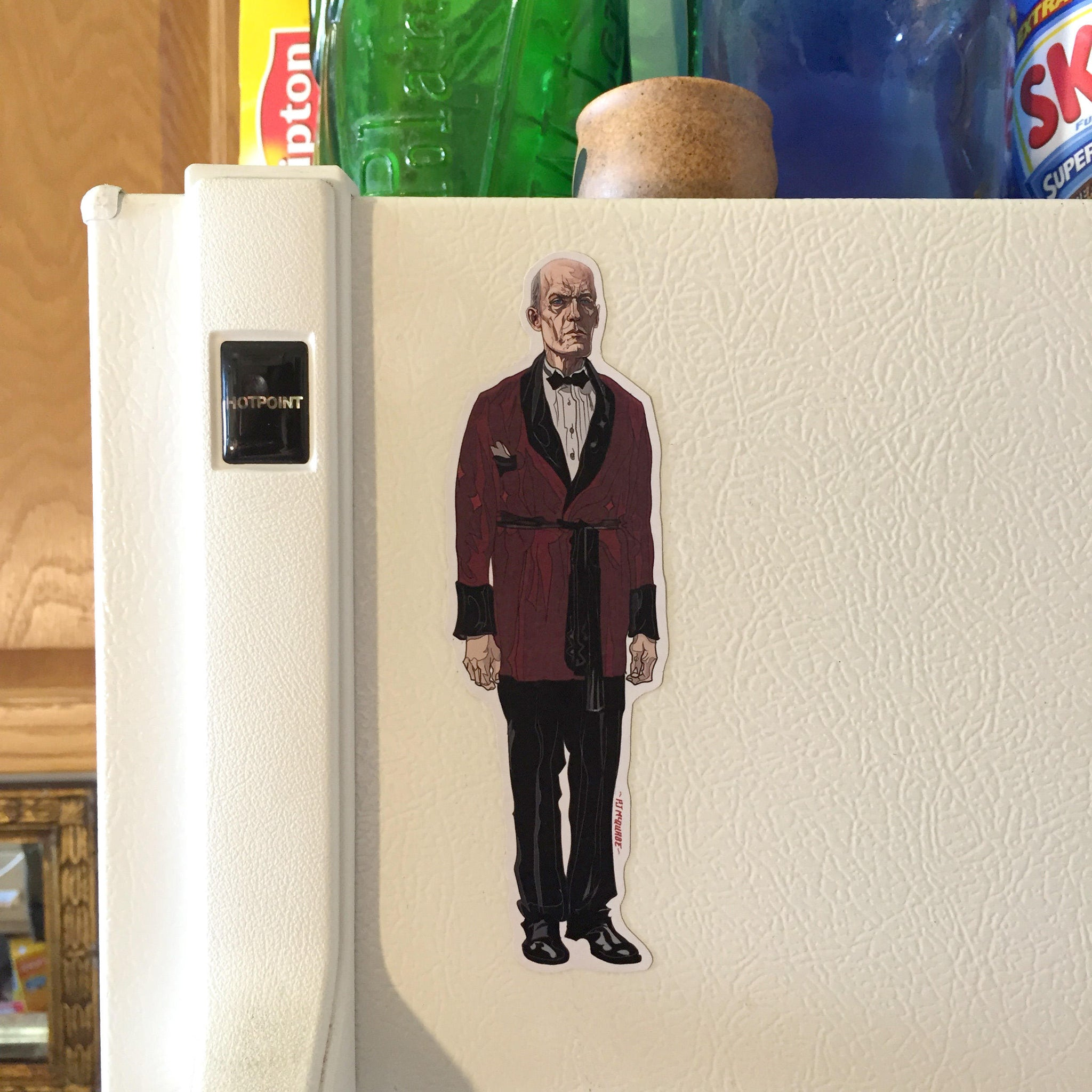 The Giant TWIN PEAKS FRIDGE MAGNET!