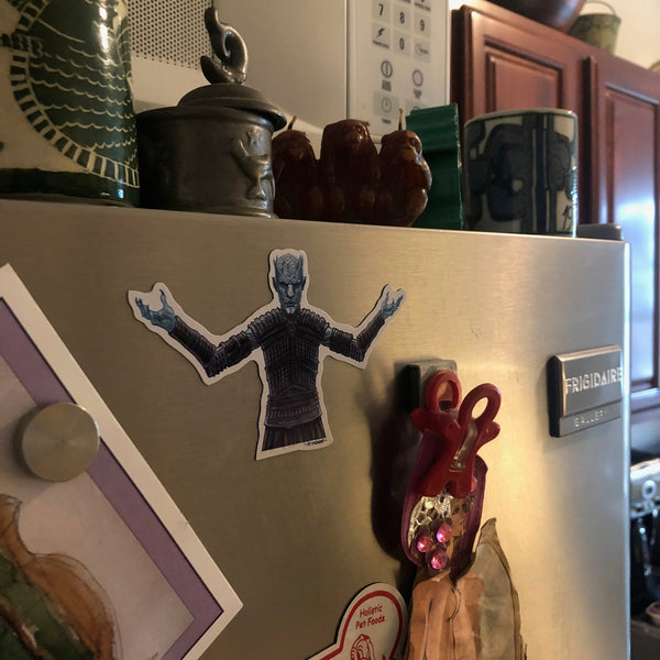 The NIGHT KING Game of Thrones Fridge MAGNET!