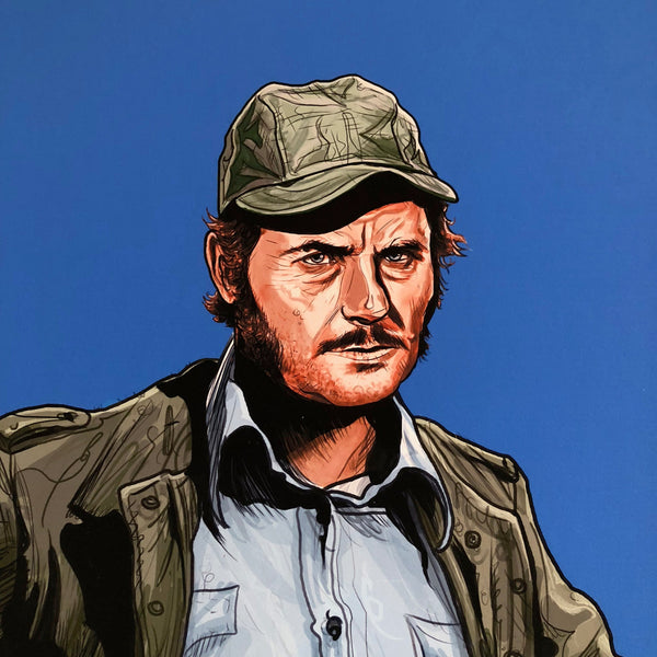 "QUINT 11x14"" Limited Edition JAWS PRINT"