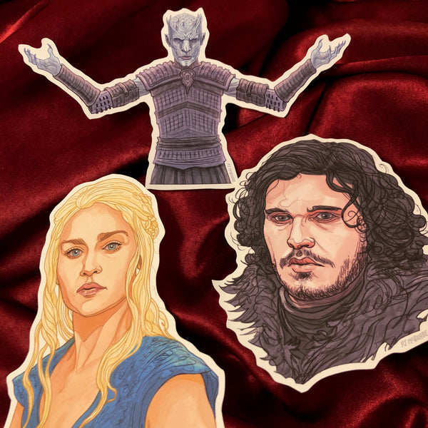 Any 3 GAME of THRONES Stickers COMBO!
