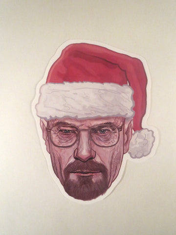 Walter White BREAKING BAD Waterproof STICKER