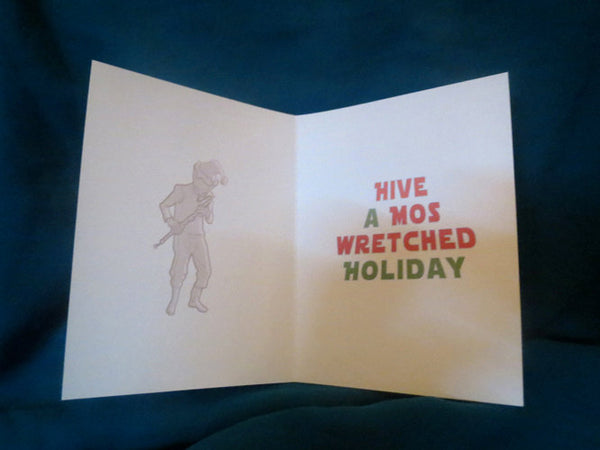 10 Pack CANTINA SCENE Star Wars Christmas CARDS!