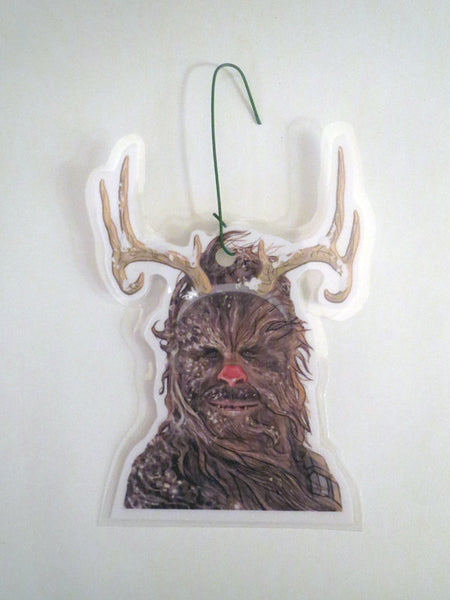 Chewbacca Reindeer Stars Wars Christmas Ornament
