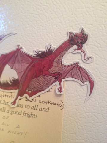 SMAUG Rankin/Bass HOBBIT Fridge MAGNET!