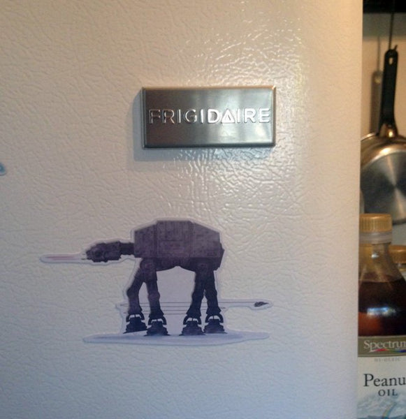 STAR WARS AT-AT Fridge MAGNET!