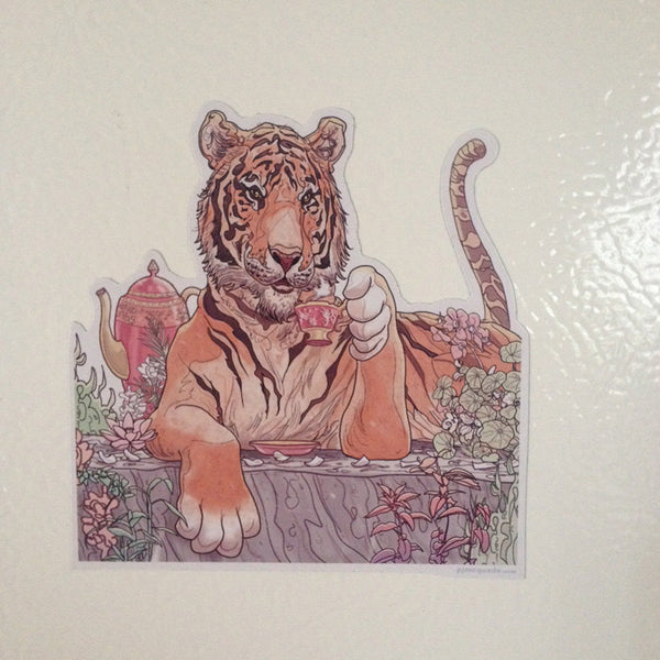 TIGER'S CHAI Fridge MAGNET!