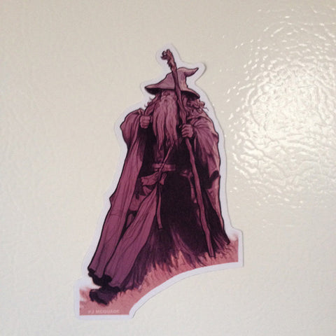 GANDALF Lord of the Rings FRIDGE MAGNET!