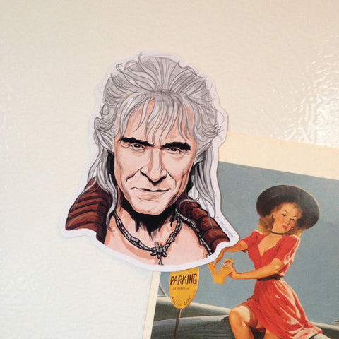 KHAN Star Trek Fridge Magnet