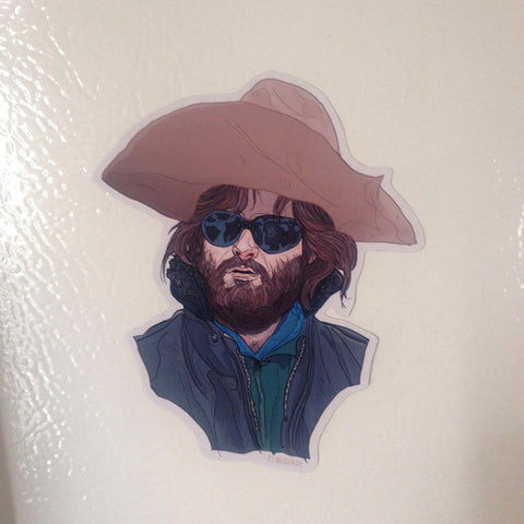 MacReady KURT RUSSELL FRIDGE MAGNET!