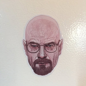 WALTER WHITE BREAKING BAD Fridge Magnet!
