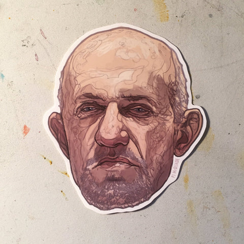 Mike BREAKING BAD Waterproof sticker