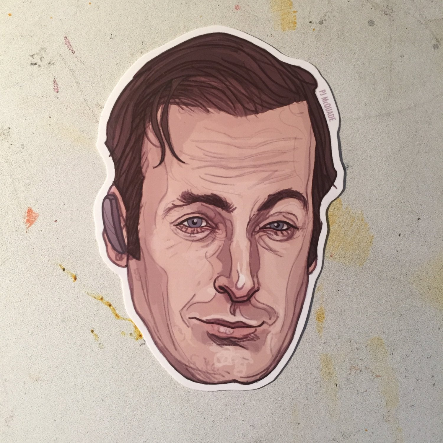 Saul Goodman BREAKING BAD sticker