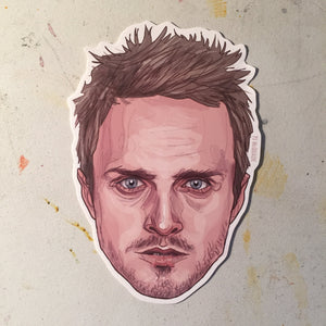 Jesse Pinkman BREAKING BAD Sticker