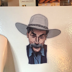 SAM ELLIOT Big Lebowski Fridge MAGNET!