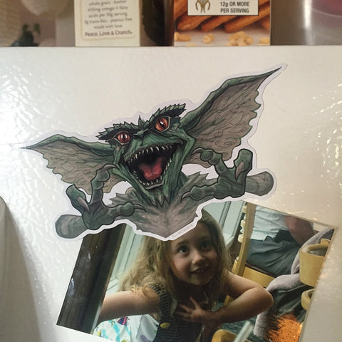 Gremlins FRIDGE MAGNET!