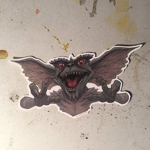 GREMLINS Waterproof STICKER!