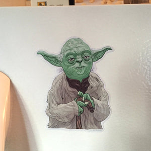 Yoda STAR WARS FRIDGE MAGNET!