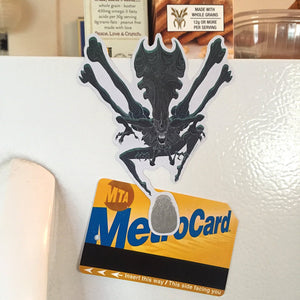 Queen Xenomorph ALIEN FRIDGE MAGNET!
