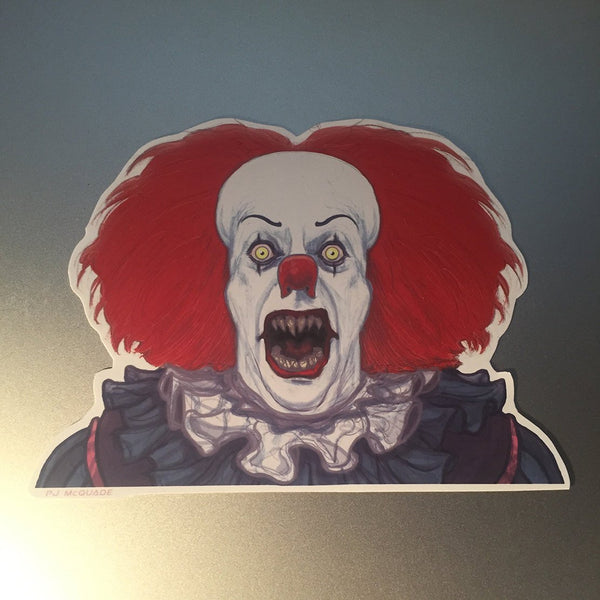 PENNYWISE IT Demon 1990 STICKER!