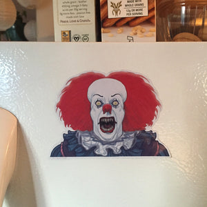 PENNYWISE IT 1990 Demon Fridge MAGNET!