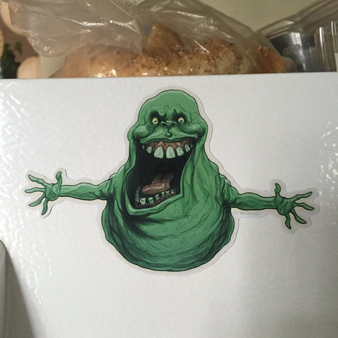 SLIMER Ghostbusters Fridge MAGNET!
