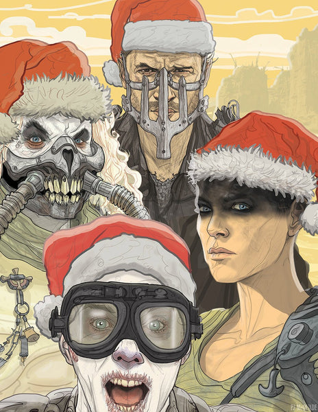 MAD MAX: FURY ROAD CHRISTMAS Card!