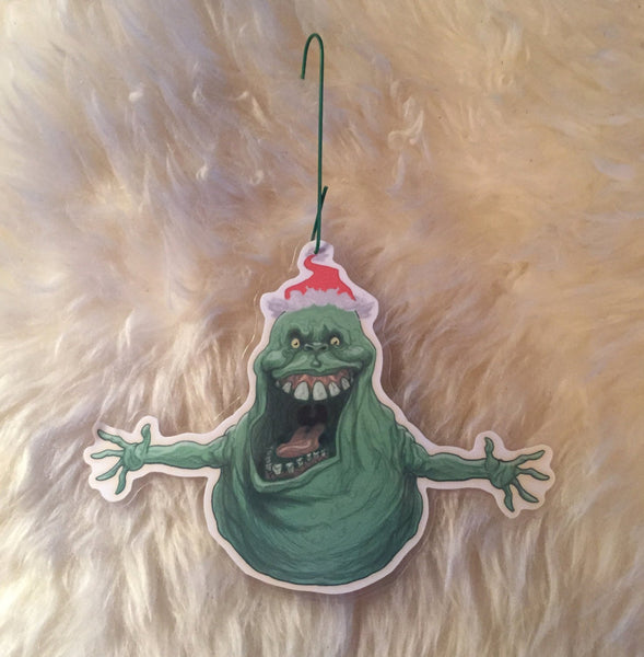 SLIMER Ghostbusters Christmas Ornament