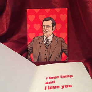 Brick ANCHORMAN Valentine's Day Card!