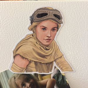 Rey STAR WARS FRIDGE MAGNET!