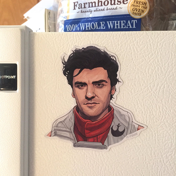 POE DAMERON STAR WARS Fridge MAGNET!
