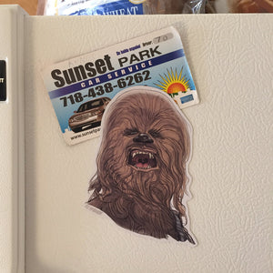Chewbacca STAR WARS FRIDGE MAGNET!