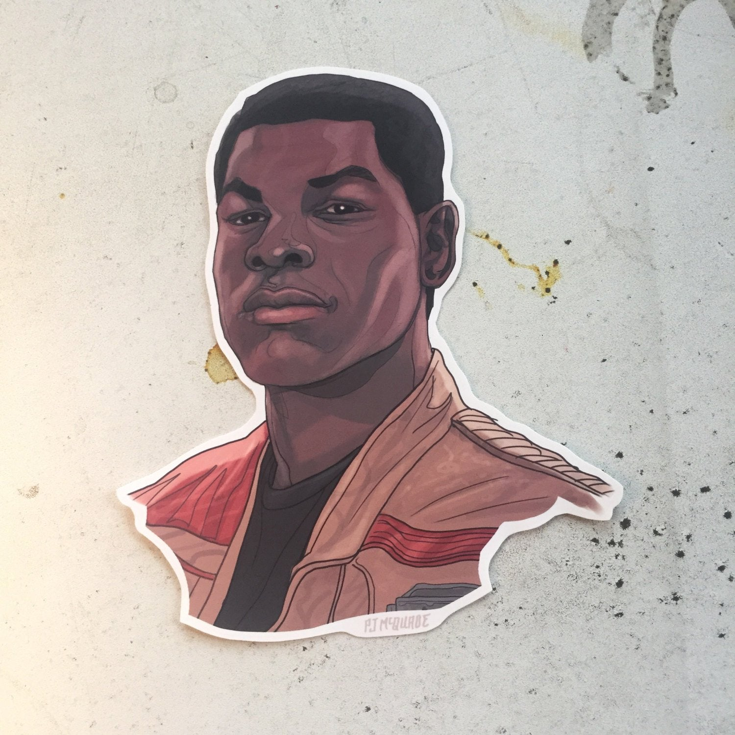 Finn STAR WARS STICKER!