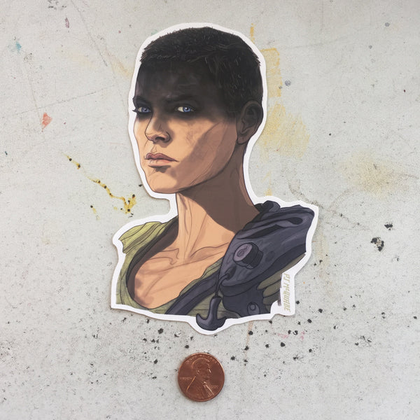 Furiosa MAD MAX: FURY ROAD STICKER!