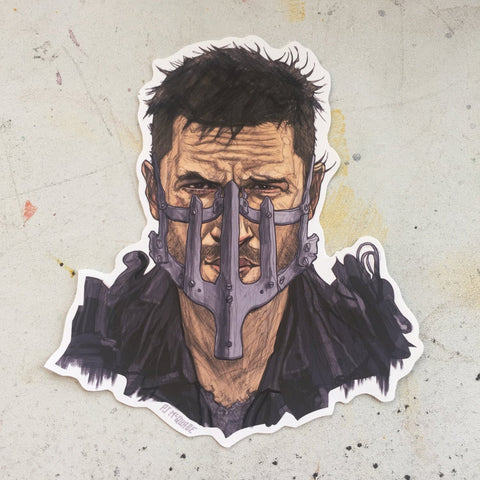 Max MAD MAX: FURY ROAD STICKER!