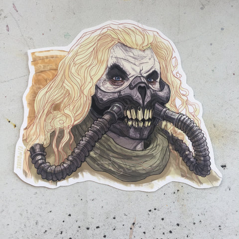 Immortan Joe MAD MAX: FURY ROAD STICKER!