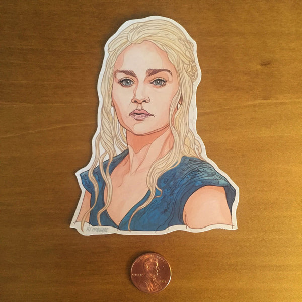 Daenerys GAME of THRONES FRIDGE MAGNET!