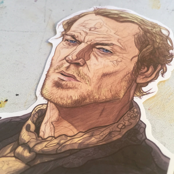 Jorah Mormont GAME of THRONES STICKER!