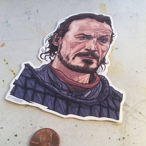 Bronn GAME of THRONES STICKER!