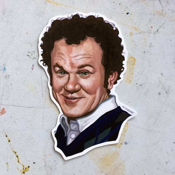 John C. Reilly STEP BROTHERS sticker